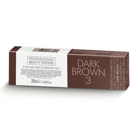 Professional Beauty Systems Eyelash and Eyebrow Tint - Dark Brown