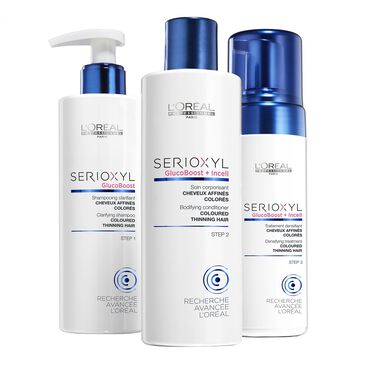 L'Oréal Professionnel Serioxyl Kit 2 for Coloured Thinning Hair 625ml