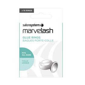 Marvelash Glue Rings Plus 10 Disposable Cups