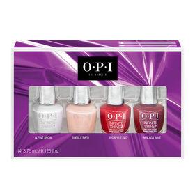 OPI The Celebration Collection Mini Infinite Shine Pack, 4 x 3.75ml