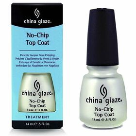 China Glaze No-Chip, Protective Shield Top Coat 14ml