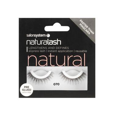 Naturalash 070 Black Strip Lashes