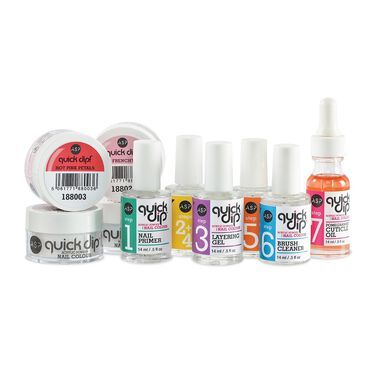 ASP Quick Dip Acrylic Powder Nail Colour System Starter Kit