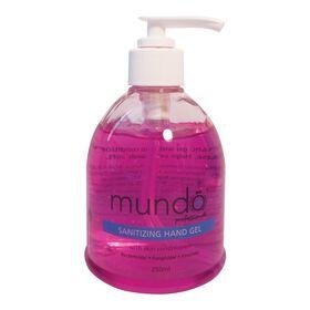 Mundo Santising Hand Gel 250ml