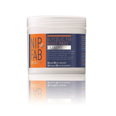 NIP+FAB Glycolic Fix Extreme Cleansing Night Pads 80ml