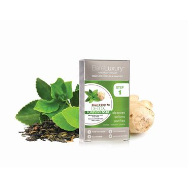 Morgan Taylor Bare Luxury Detox Ginger & Green Tea 4 Pack