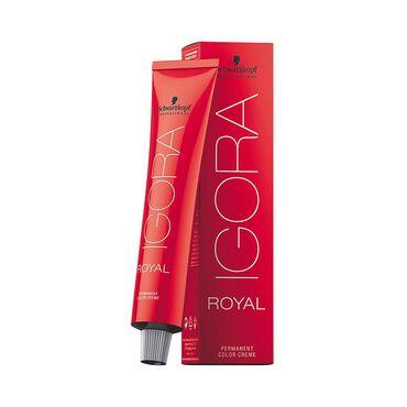 Schwarzkopf Professional Igora Royal Permanent Hair Colour - 8-1 Cendre Light Blonde 60ml
