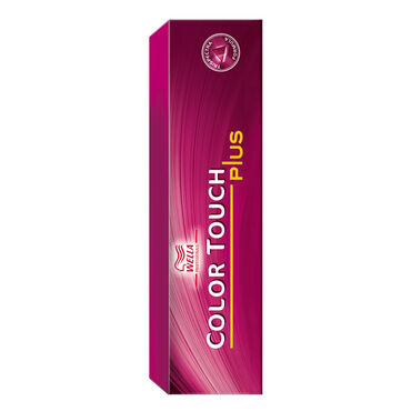 Wella Professionals Color Touch Plus Semi Permanent Hair Colour - 55/07 Intense Light Natural Brunnette Brown 60ml