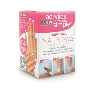 ASP Nail Forms Pack of 24