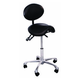 Salon Services Amelia Support Stool Black