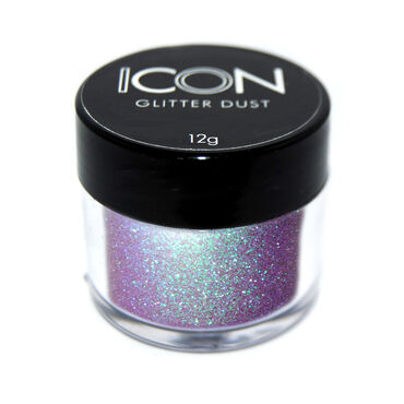 Icon Nail Glitter Dust Black Grape 12g