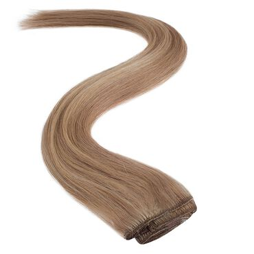 Wildest Dreams Clip In Full Head Human Hair Extension 18 Inch - 22/14 Sunkissed Blonde Blend