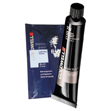 Goldwell Topchic Permanent Hair Colour - Blonding Cream Ash 60ml