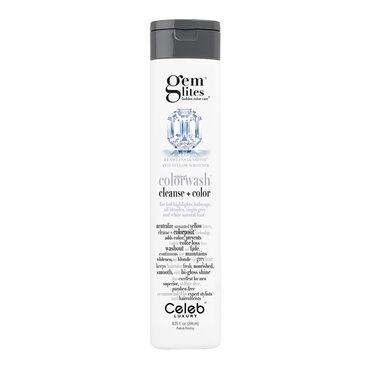 Celeb Luxury Gem Lites Semi Permanent Colourwash Shampoo Blonde - Flawless 244ml