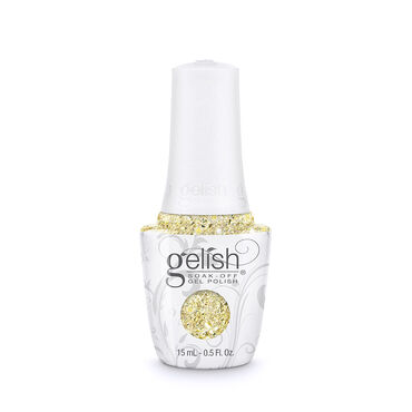 Gelish Soak Off Gel Polish Thrill of the Chill Collection - Ice Cold Gold 15ml