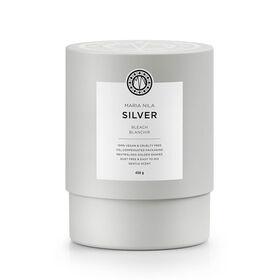 Maria Nila Bleach Collection Silver Jar + 12 silver shots, 450ml