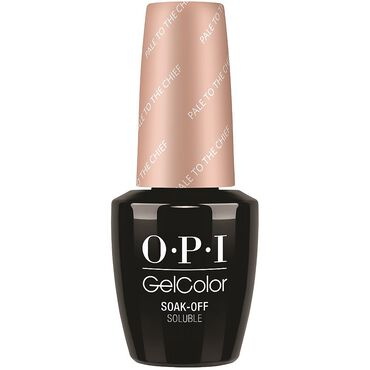OPI GelColor Gel Polish Washington DC Collection - Pale To The Chief 15ml