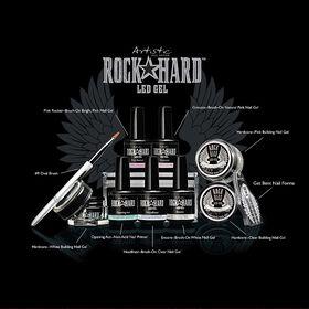 Artistic Rock Hard LED Gel Kit