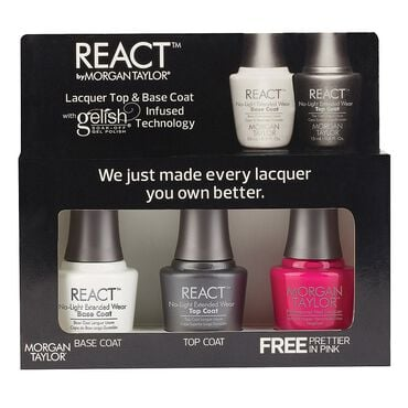 Morgan Taylor React Extended Wear Trio - Prettier In Pink 3 x 15ml