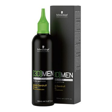 Schwarzkopf Professional 3D Men Anti-Dandruff Tonic 150ml