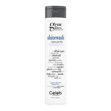 Celeb Luxury Gem Lites Shinewash Shampoo 244ml
