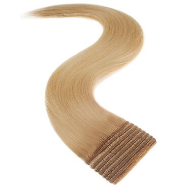 Satin Strands Weft Full Head Human Hair Extension - Malibu 18 Inch