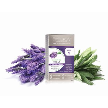 Morgan Taylor Bare Luxury Calming Lavender & Sage 4 Pack
