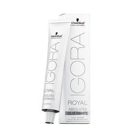 Schwarzkopf Professional Igora Royal Absolutes Silverwhite Demi-Permanent Hair Colour - Grey Lilac 60ml