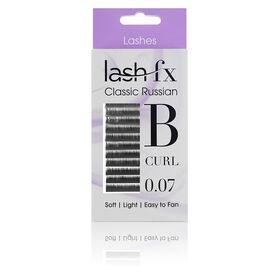 Lash FX Classic Russian Lashes B Curl 0.07 - 10mm