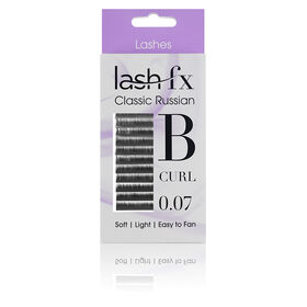 Lash FX Classic Russian Lashes B Curl 0.07 - 11mm