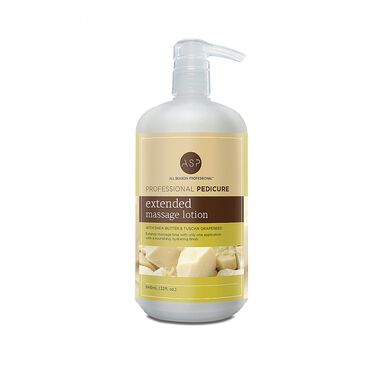 ASP Pedicure Extended Massage Lotion 946ml