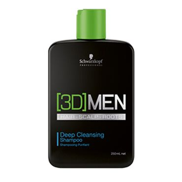 Schwarzkopf Professional 3D Men Deep Cleansing Shampoo 250ml