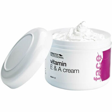 Strictly Professional Vitamin E and A Cream 450ml