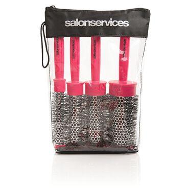 SPRO Heat Retainer Brush Set Pink