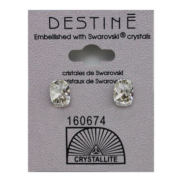 Crystallite Textured Stud Earrings