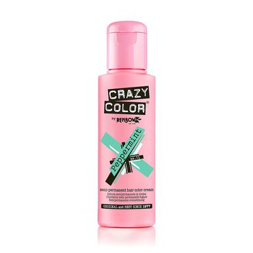 Crazy Color Crazy Color Semi Permanent Hair Colour Cream - Peppermint 100ml