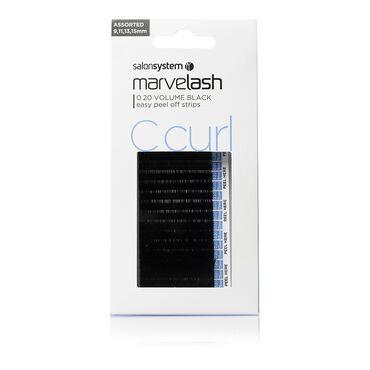 Marvelash Extra Volume Silky Lash C Curl Assorted