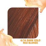 Wella Professionals Colour Fresh Semi Permanent Hair Colour - 6/34 Dark Gold Red Blonde 75ml
