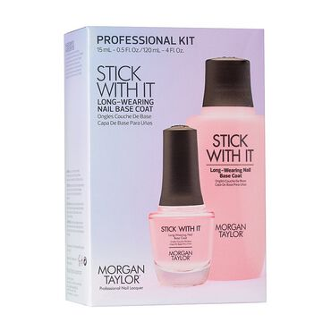Morgan Taylor Essentials Stick With It Base Coat Professional Kit