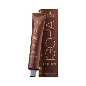 Schwarzkopf Professional Igora Color 10 Permanent Hair Colour - 6-4 Dark Blonde Beige 60ml