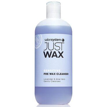 Just Wax Sensitive Pre Wax Cleanser 500ml