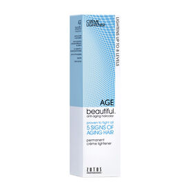 AGEbeautiful Permanent Hair Colour Crème Lightener 60ml