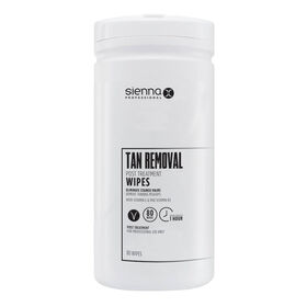 Sienna X Tan Removal Wipes Pack of 80