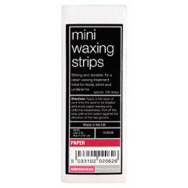 Salon Services Mini Wax Strips 100 Pack
