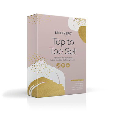 Beauty Pro Top To Toe Sheet Mask Set