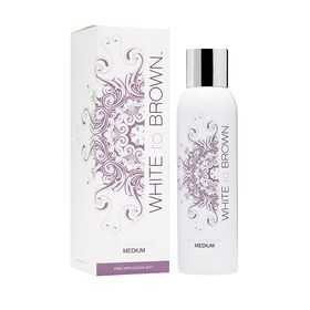 WHITE to BROWN Self Tanning Mist Medium 200ml