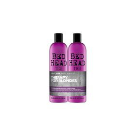 TIGI Bed Head Dumb Blonde Shampoo and Conditioner 2x 750ml