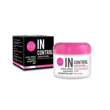 ASP In Control LED/UV Gel - Transparent Pink 28g
