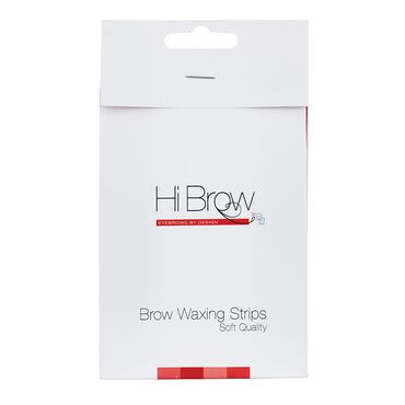 Hi Brow Soft Quality Brow Waxing Strips 100 pack