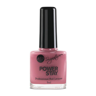 ASP Power Stay Professional Long-lasting & Durable Nail Lacquer - Vintage Rose 9ml